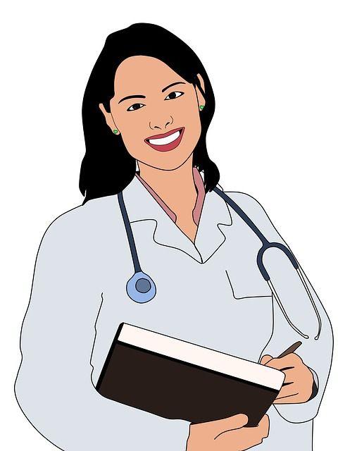 Ärztin Infrarotkabine