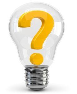 Glühbirne Frage