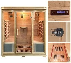 home deluxe bali xl infrarotsauna sauna test 24. Black Bedroom Furniture Sets. Home Design Ideas