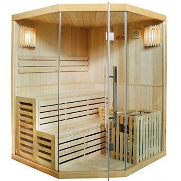 Finnische Sauna Espoo 150 x 150 cm 6 kW
