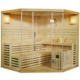 Finnische Sauna Espoo 200 x 200 cm 8 kW