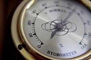Luftfeuchtigkeit Dampfdusche